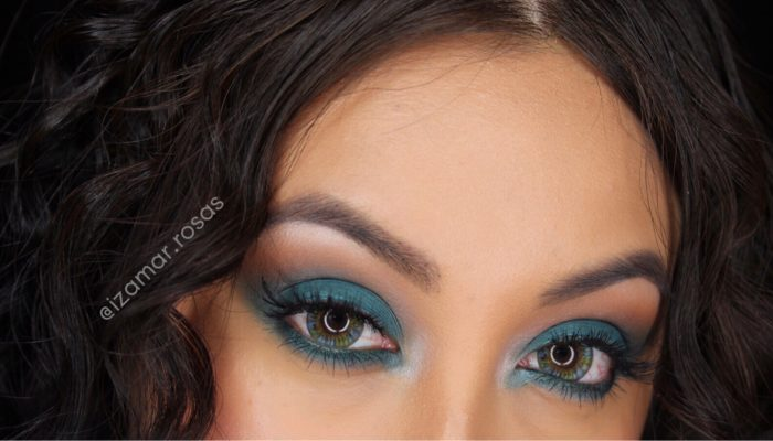 Wild thoughts blue eye shadow