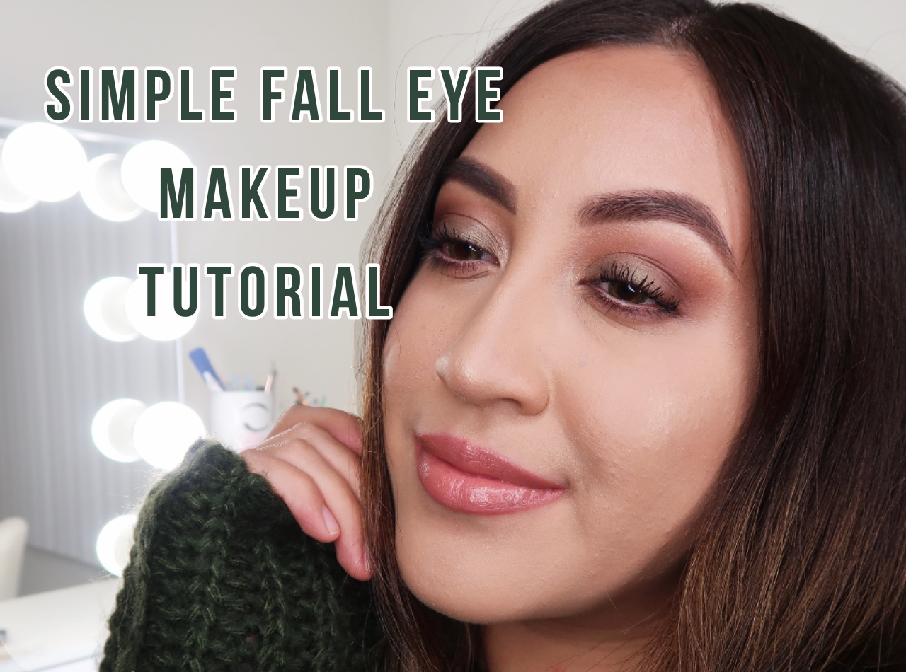 Simple Fall Eye Look Izamar Rosas
